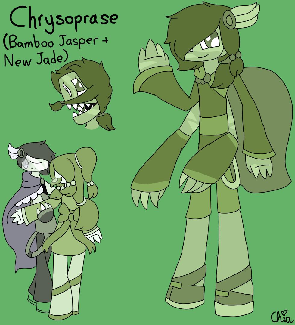Chrysoprase SU Fusion by HerrenLovesFNAF
