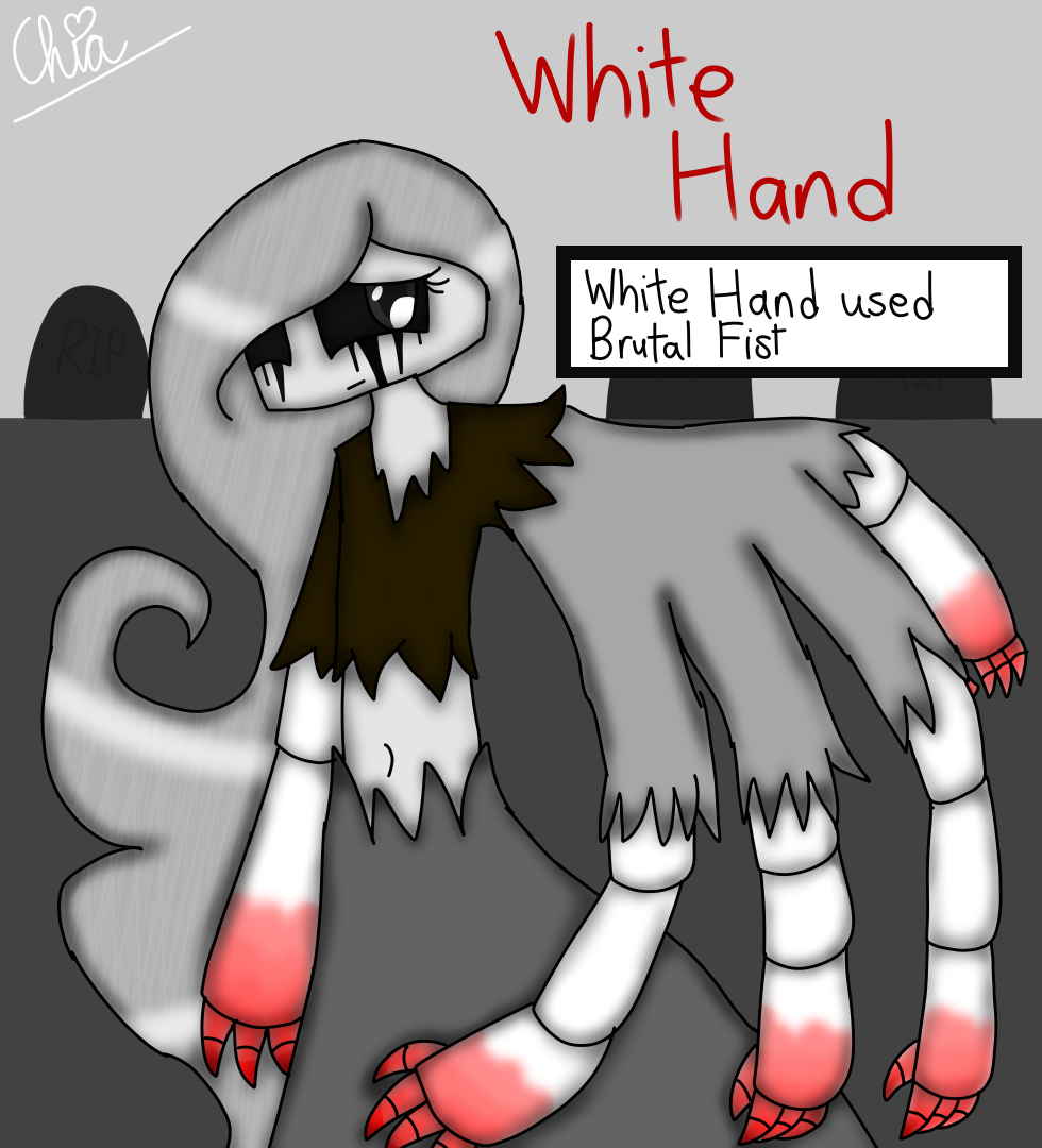 Pokepasta #8-White Hand by HerrenLovesFNAF