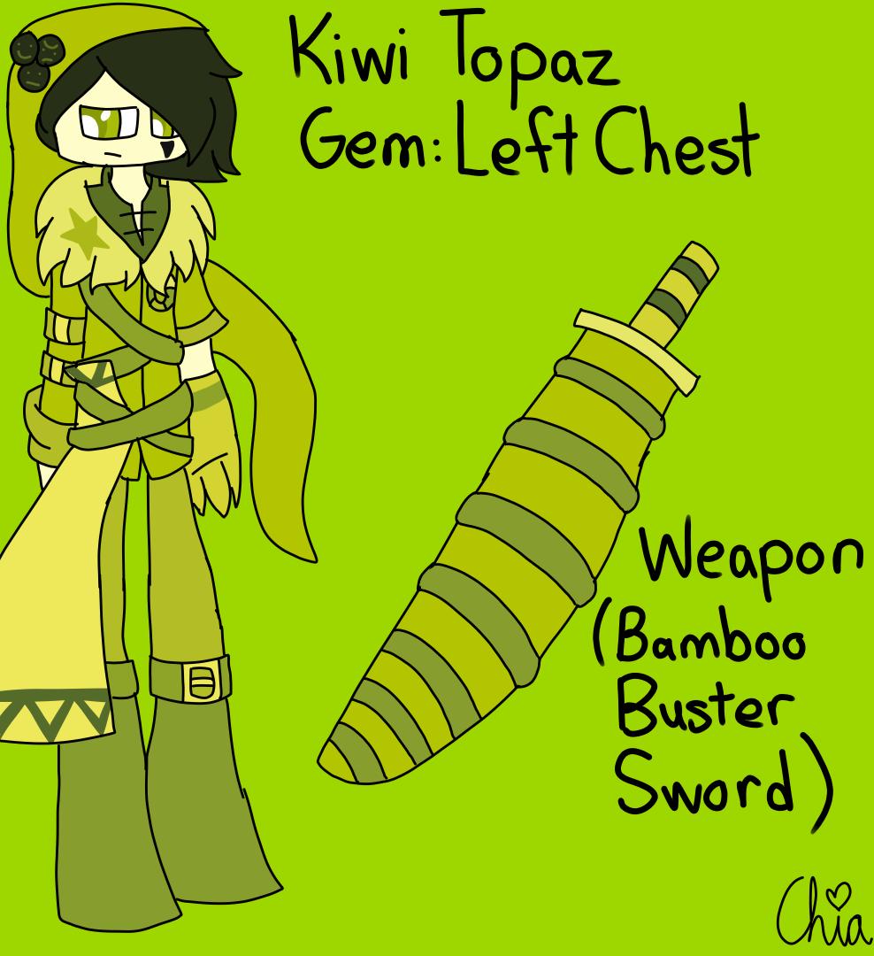 SU OC Kiwi Topaz by HerrenLovesFNAF