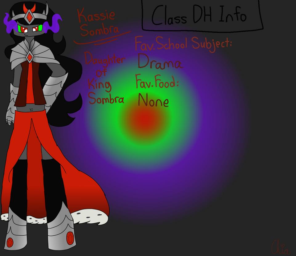 Monster Highschool AU-Kassie Sombra by HerrenLovesFNAF