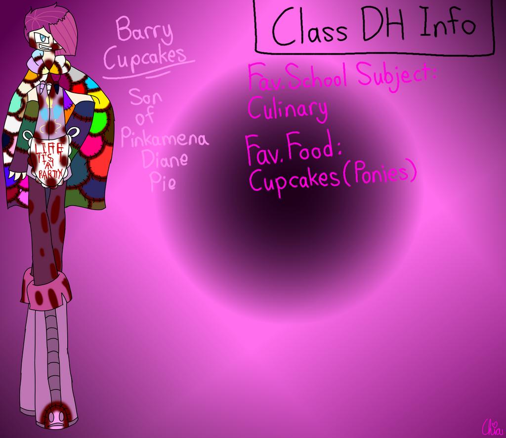 Monster Highschool AU-Barry Cupcakes by HerrenLovesFNAF