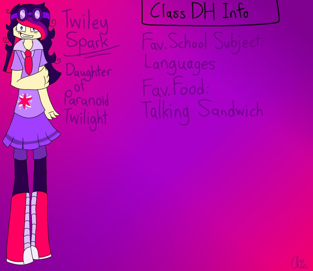 Monster Highschool AU-Twiley Sparks by HerrenLovesFNAF