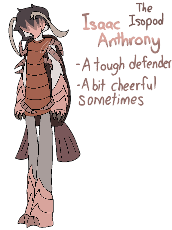 [Animal Yakuzas]-Isaac Anthrony the Isopod by HerrenLovesFNAF
