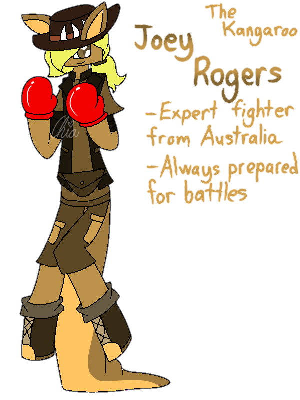 [Animal Yakuzas]-Joey Rogers the Kangaroo by HerrenLovesFNAF