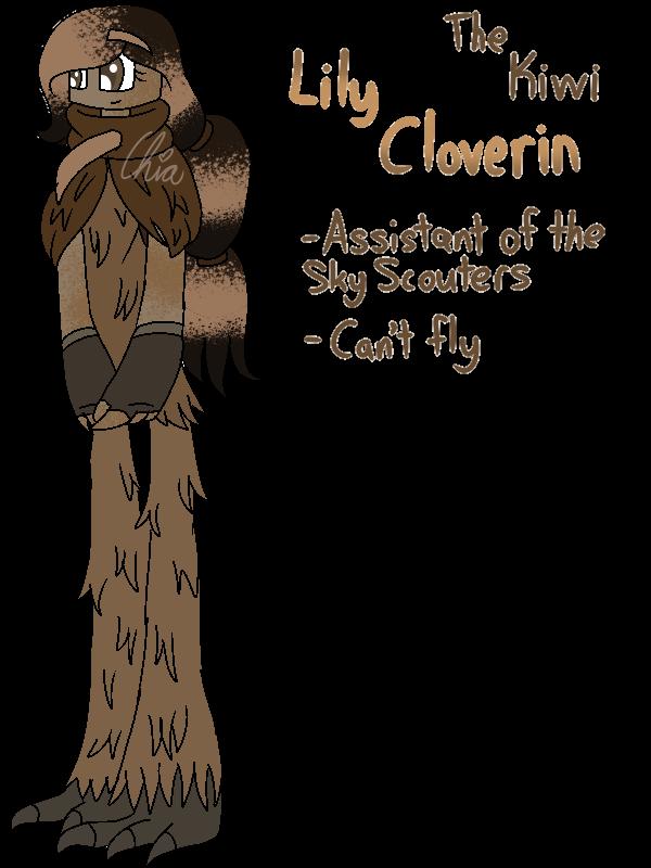 [Animal Yakuzas]-Lily Cloverin the Kiwi by HerrenLovesFNAF