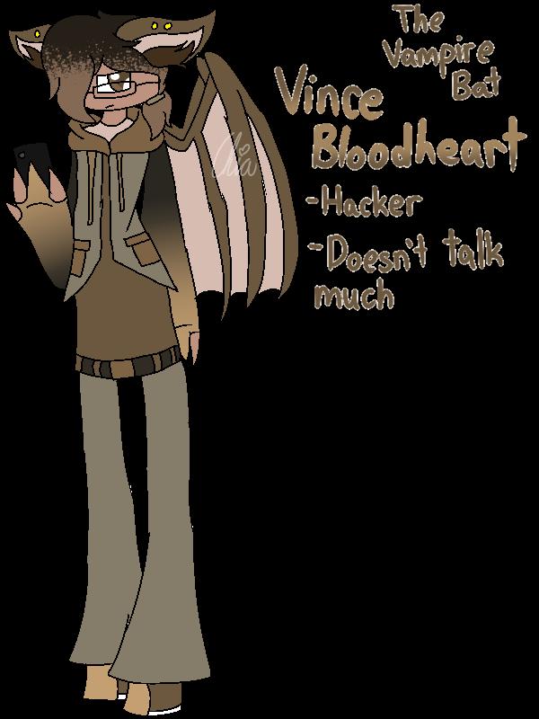[Animal Yakuzas]-Vince Bloodheart the Vampire Bat by HerrenLovesFNAF
