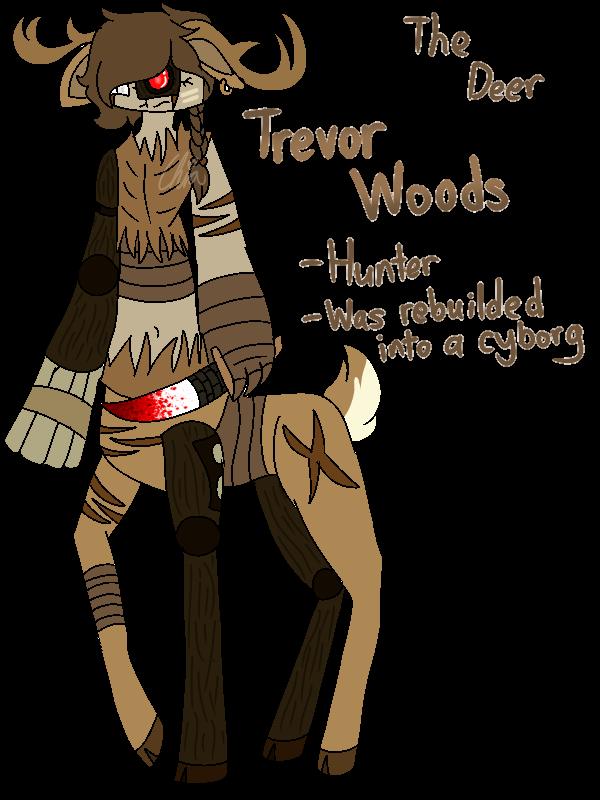 [Animal Yakuzas]-Trevor Woods the Deer by HerrenLovesFNAF
