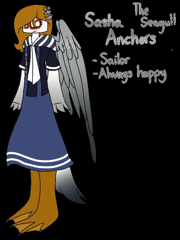 [Animal Yakuzas]-Sasha Anchors the Seagull by HerrenLovesFNAF