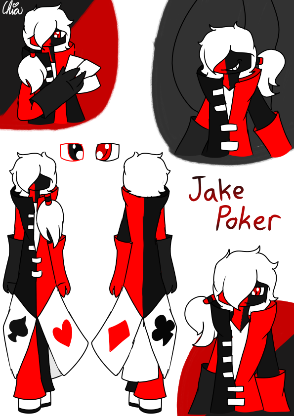 [Casino Gang]-Jake Poker by HerrenLovesFNAF