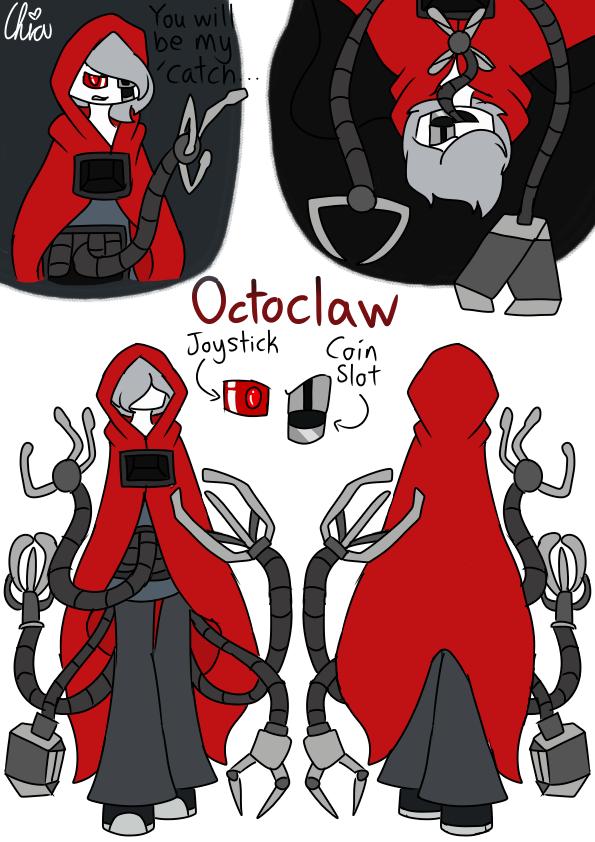 [Casino Gang]-Octoclaw by HerrenLovesFNAF