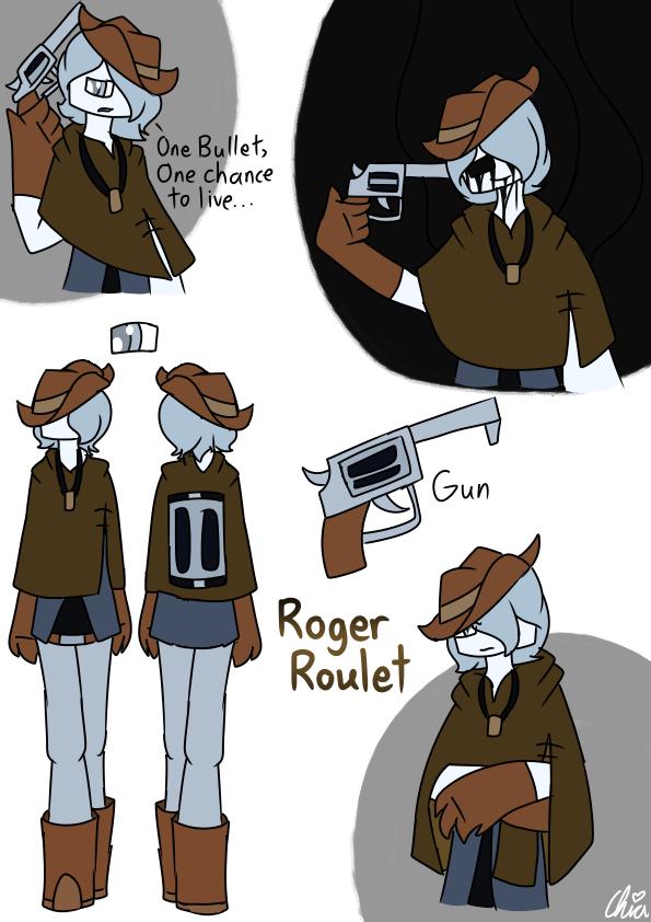 [Casino Gang]-Roger Roulet by HerrenLovesFNAF