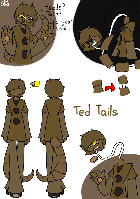 [Casino Gang]-Ted Tails by HerrenLovesFNAF