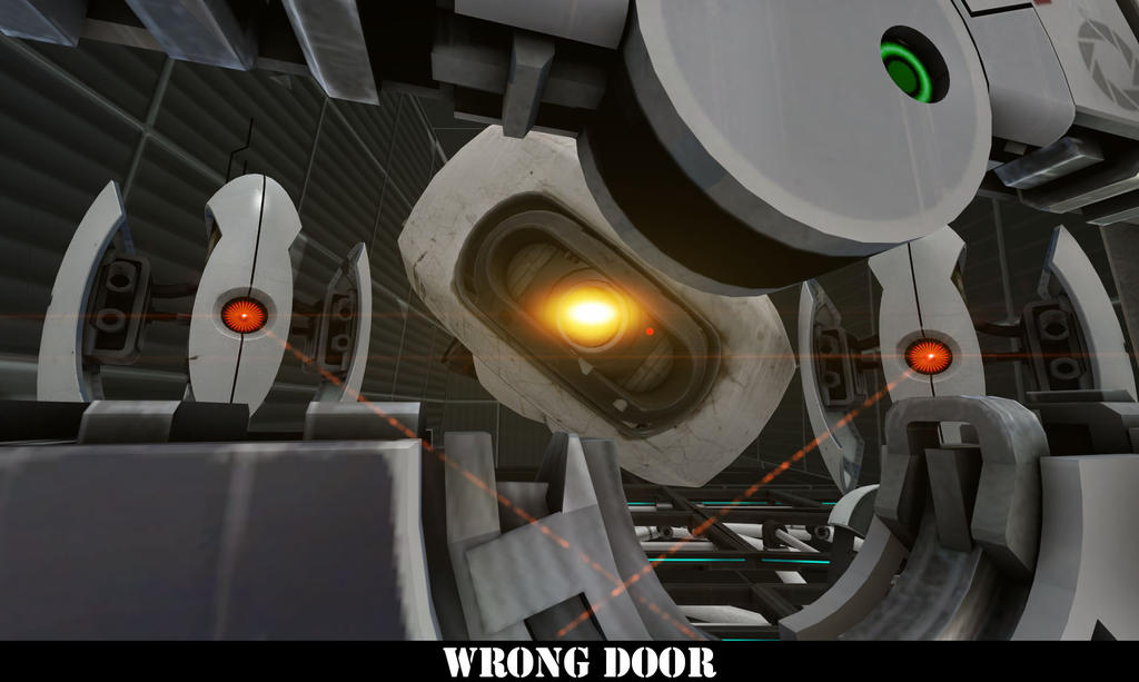 [SFM Portal 2] WRONG DOOR by LetsPlayLittle ... & SFM Portal 2] WRONG DOOR by LetsPlayLittle on DeviantArt