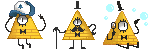 ...Bill Cipher / Icon Batch / FREE... by Insane-Dorito
