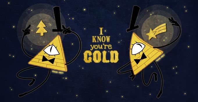 ...GOLD...
