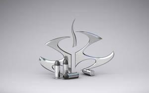 HITMAN LOGO Silver by REXTON