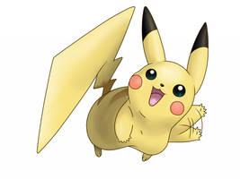 025 - Pikachu by nganlamsong