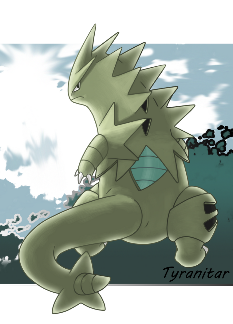 248 - Tyranitar by nganlamsong on DeviantArt
