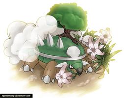 389 - Torterra by nganlamsong