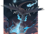 Mega Charizard X - Power of a dragon!