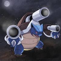 Mega Blastoise by nganlamsong