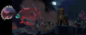 Zoroark and the Beasts trio