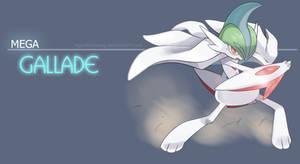 Mega Gallade - The blade master