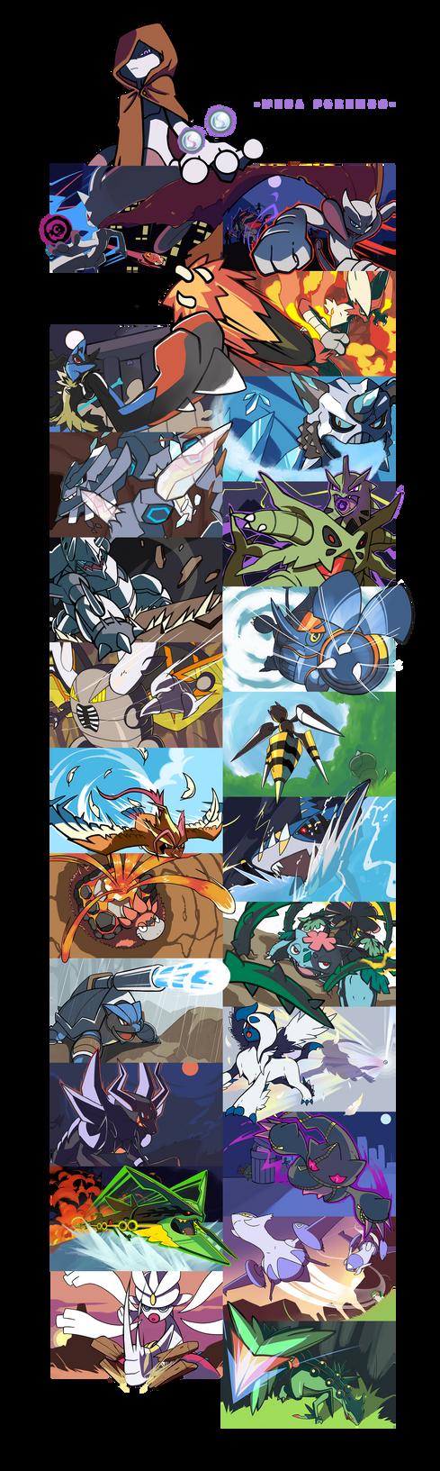 We are mega pokemon by nganlamsong
