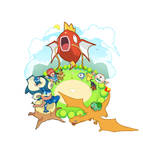 Magikarp - Jump fanart