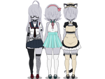 Kisekae: 3 Different Styles (1) Export