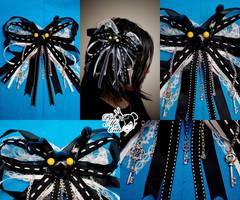 Heartless Hair Pin by xxpo0k13x