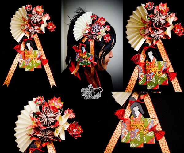 Origami Dancing Geisha Hairpin By Xxpo0k13x On Deviantart