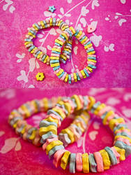 Paper Clay Candy Bracelet