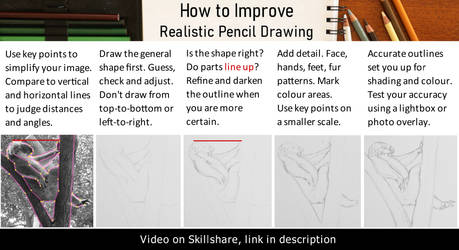 Tutorial: freehand sketch accurate outlines by agree-to-dissagree