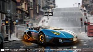 Lamborghini Aventador SV modified