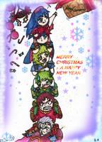 Merry christmas by UnforgivenImmortal