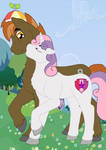 Proud of You (Sweetie Belle x Button Mash)