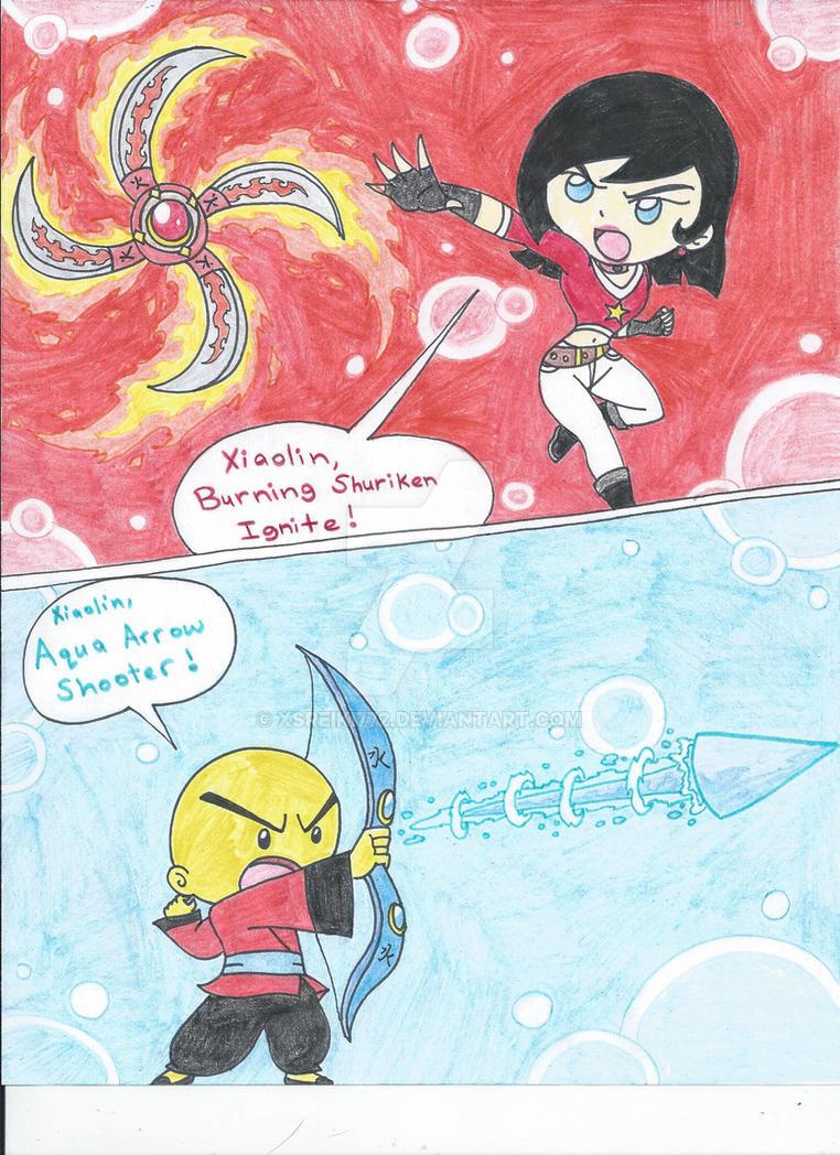 XS comic: Spider! part 4 by XSreiki772 on DeviantArt