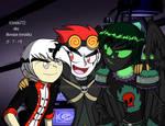 Terrible Trio's plot