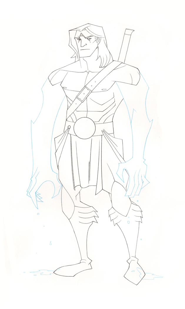 Aquaman Animated by chriscopeland