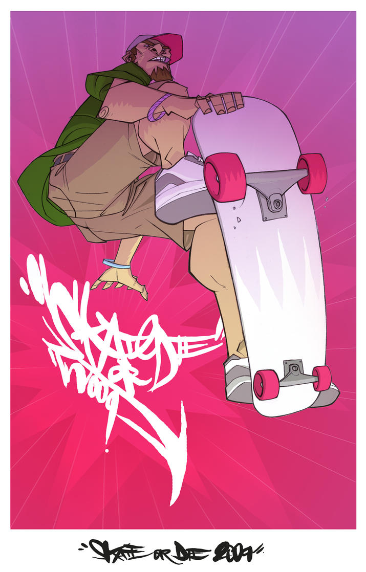 Skate or Die 2k9 by chriscopeland