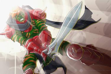 Battle-Cat Thundercat Version by chriscopeland