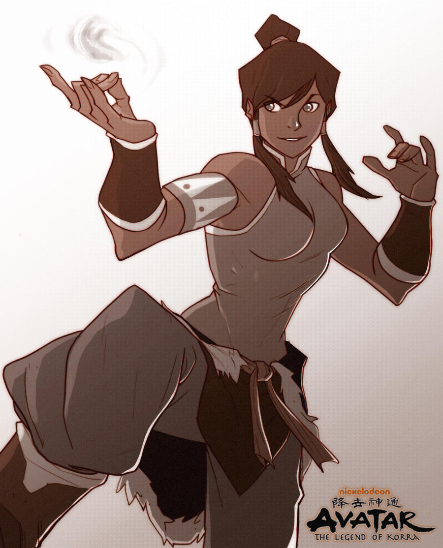 Korra by chriscopeland