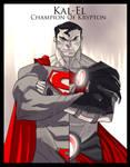 Kal-El CHampion of Krypton