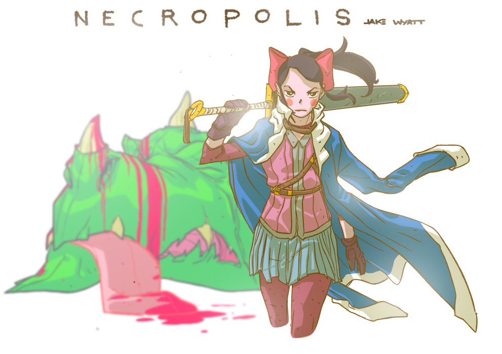 NECROPOLIS by chriscopeland