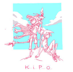 K        i       P        O by chriscopeland