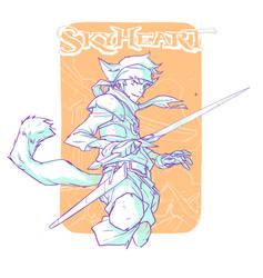 Skyheart by chriscopeland