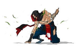 Ninja Boy...remember that comic? by chriscopeland