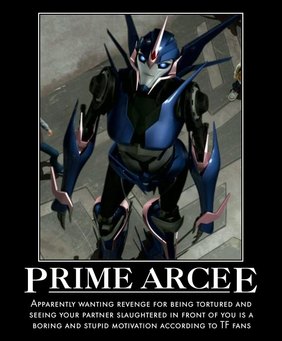 Transformers Prime Arcee Sexy Arcee prime motivational by