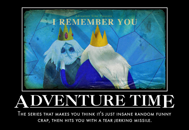 Adventure Time Motivational by jswv